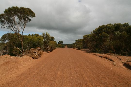 Австралийские дороги.